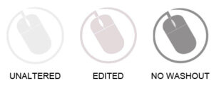 Edited logo watermark results