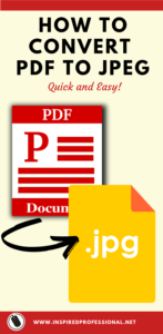 How to Convert PDF to JPEG - Read here