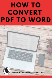 How to convert PDF to Word - click here