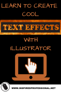 Create cool text effects with Illustrator