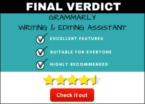 Grammarly Product Review Final Verdict