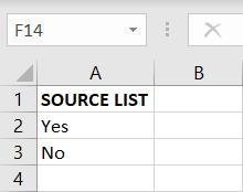 Source List